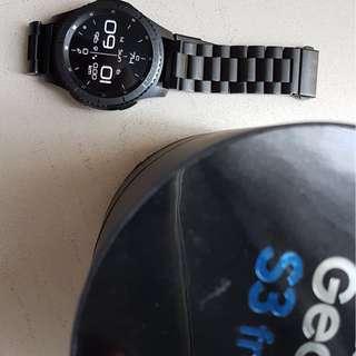 SAMSUNG GEAR S3 FRONTIER 98% new