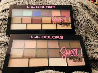 LA colors sweet sixteen eyeshadow