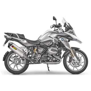 AKRAPOVIC Exhaust for BMW R 1200 GS Adventure 2017 2013-2018 (Slip-on) (LTA Approved) (Titanium)