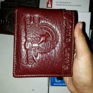 Dompet kulit levis