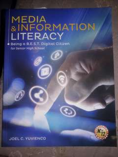 Media and Information Literacy for ( Senior HighSchool)