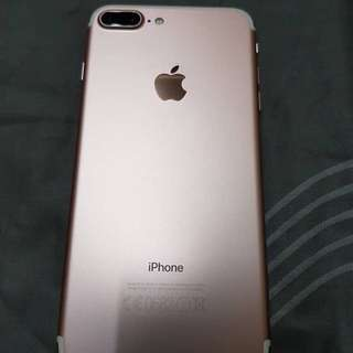 Iphone 7plus Rose Gold 128gb Ori Myset