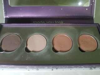 Colourpop Nude Eyeshadow Quad