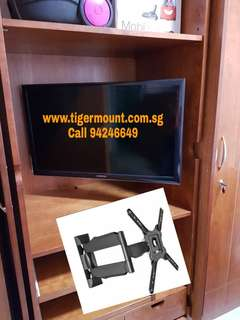 TV /Monitor Wall Bracket Full Motion Mount