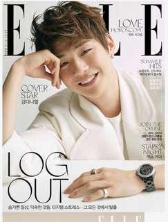 Kang Daniel ~ Elle Magazine July (Pre-Order)