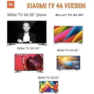TV Xiaomi 4K Android Smart TV Version 4A Models