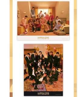 Wanna One IPU poster