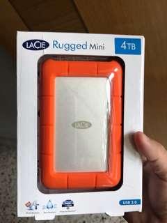 NEW Lacie Rugged Mini 4TB USB3.0