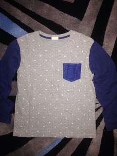 Longsleeve Cotton TShirt 8-9years