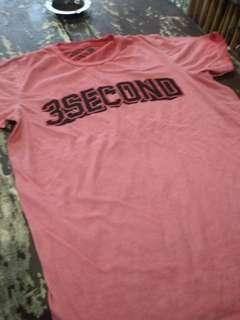 cuci gudang, baju three second