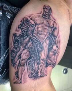 Greek mythology tattoo
