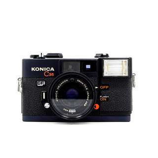 Konica C35 EF Film Camera