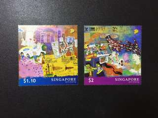 Singapore stamps Spirit of giving