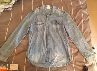 H&M Denim Shirt Jeans