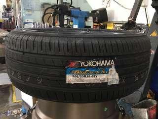205/50/16 Ae50 Yokohama Tyre