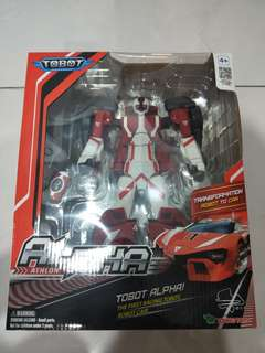 Brand new Tobot Alpha Robot transform to car