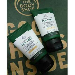 The Body shop tea tree BB cream