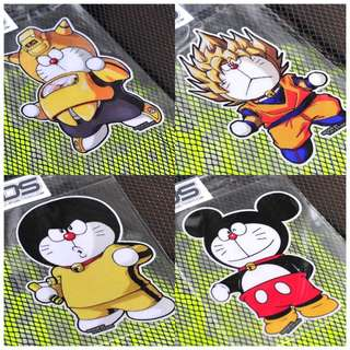 PO - Doraemon character car sticker