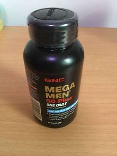 GNC MEGA MAN 50 plus