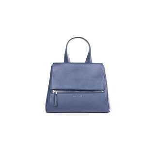 GIVENCHY - 藍色PANDORA小號牛皮手提包