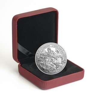 本店最後現貨 包郵 2016 香港保衛戰 紀念銀幣 罕有 精鑄 禮盒裝 battle of Hong Kong silver coin