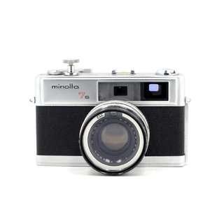 Minolta 7s SLR Film Camera