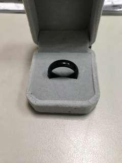 🚚 黑曜石戒指(戒圍17mm)