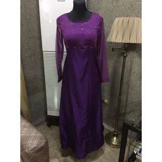 Evening gown (fits size L)