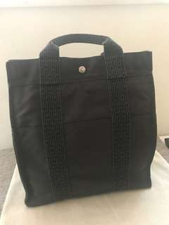 Hermes canvas backpack