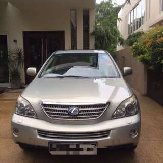 Lexus Hybrid rx400h Car For Sale