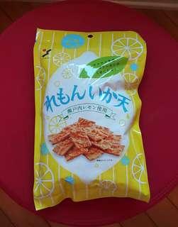 ⚽睇波必備-日本檸檬汁魷魚天婦羅脆脆