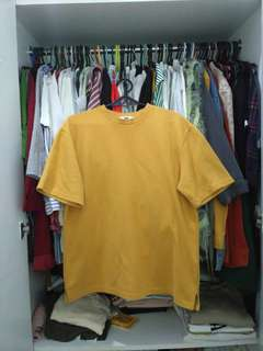 Korean yellow shirt