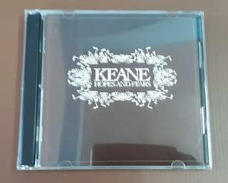 CD Keane - Hopes and Fears ( CD + VCD )