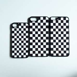 Checkered iPhone cases