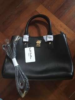 真皮手袋 genuine leather bag