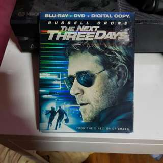 Next Three Days Blu Ray