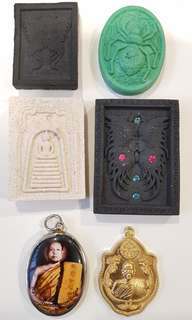 Kruba Krissana Amulet Bundle