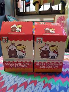Cute glass containers
