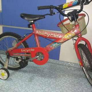 18 inches wheel bicycle for kids