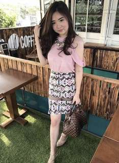 Caca top dusty pink