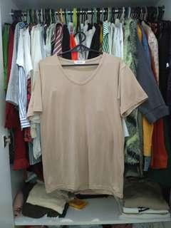 Korean nude tee shirt