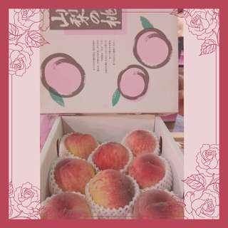🇯🇵日本🇯🇵 🍑山梨桃🍑