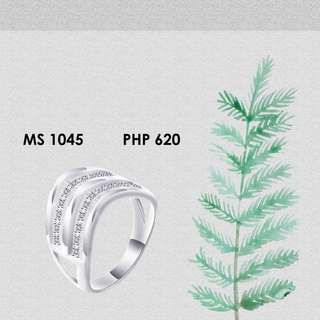 LADIES RING 92.5 silver authentic