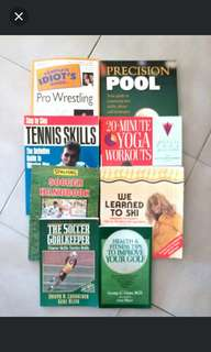 Sports Games Exercises Books