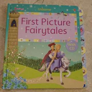 Usborne First Picture Fairytales With CD