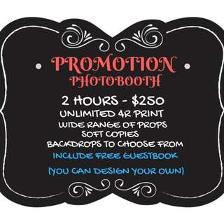AFFORDABLE PHOTO BOOTH HERE!