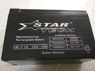 Star tech motor battery
