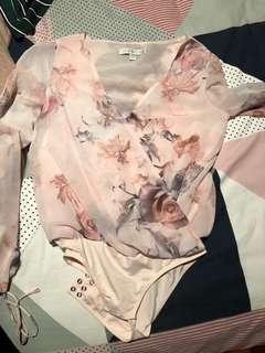 Forever new bodysuit floral