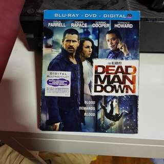 Dead Man Down Blu Ray