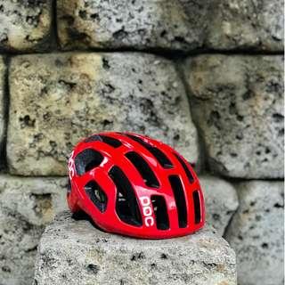 [Almost New] POC Octal Bohrium Red helmet